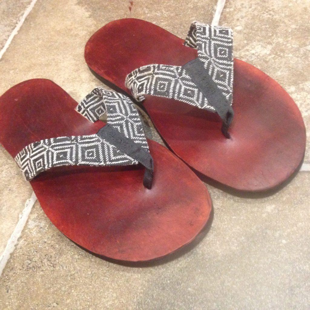 handmade mens flip flops